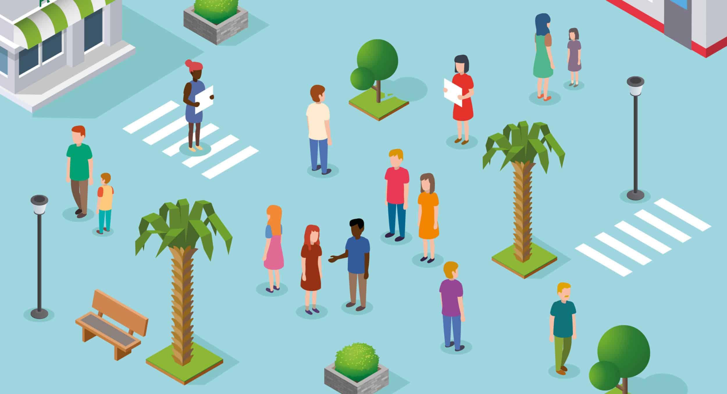 Requalification du cœur de ville : avis de concertation préalable du public