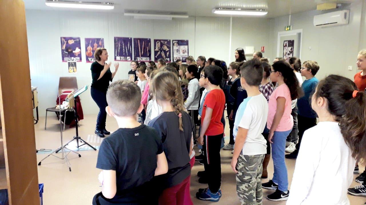 Une chorale pour les enfants