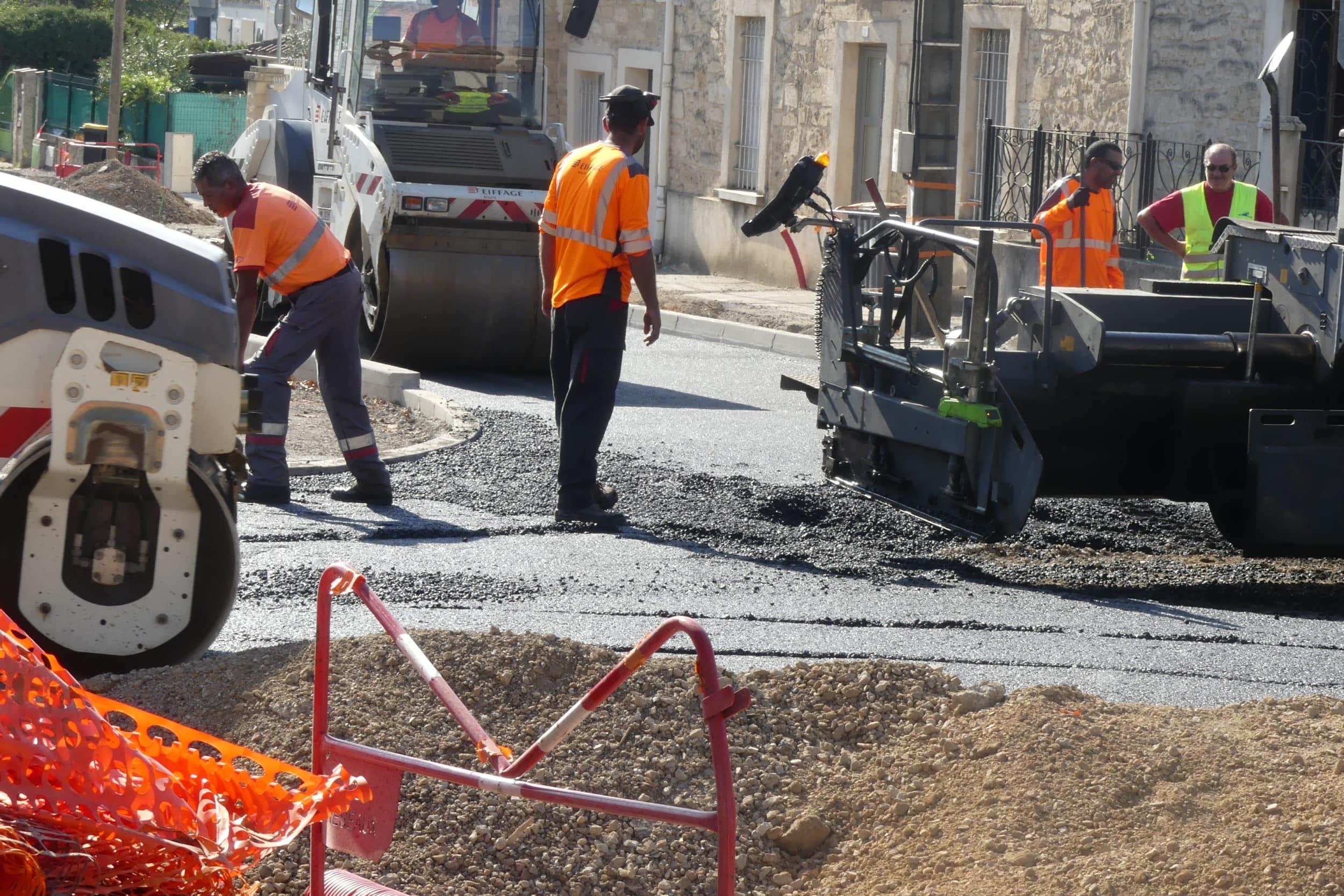 Rue du Coustouliès :  les travaux se poursuivent