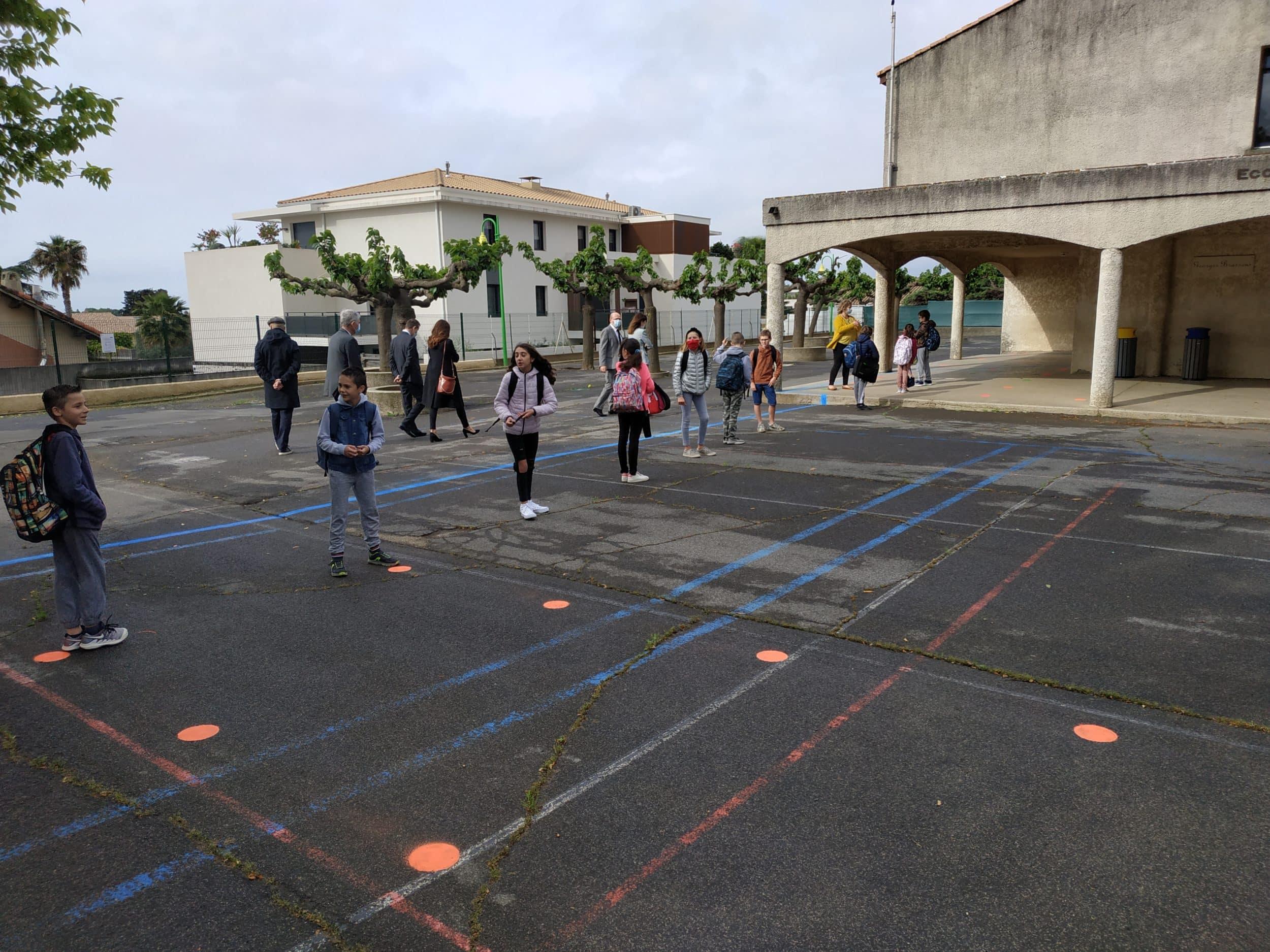 Réouverture des classes : les écoles baillarguoises félicitées