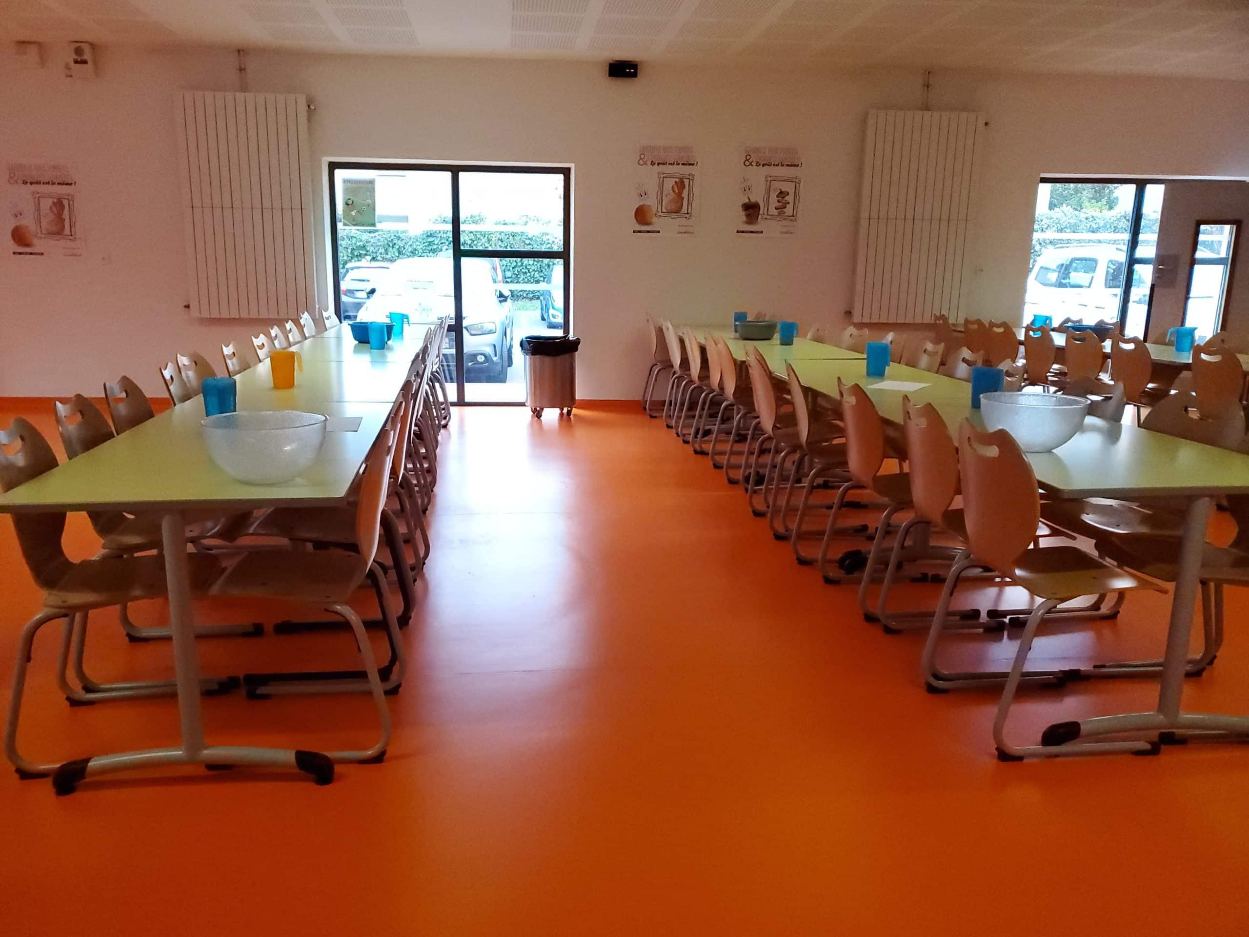 Fermeture temporaire du service de restauration scolaire