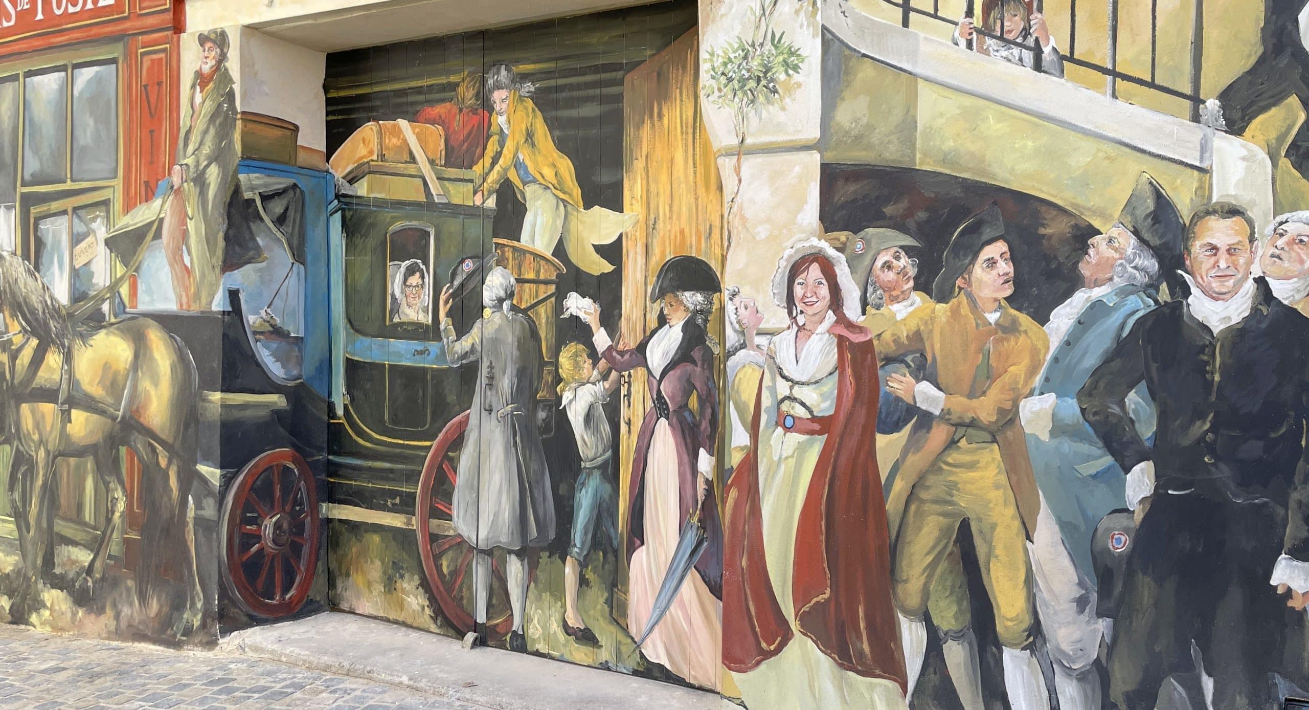 Inauguration de la fresque «Baillargues sous la Révolution»