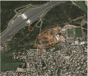 Localisation antenne