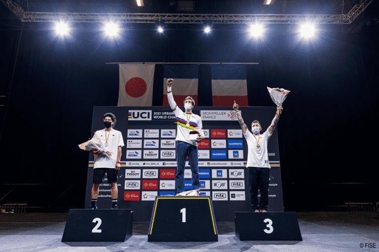Alex Jumelin, médaille de bronze - championnat du monde 2021