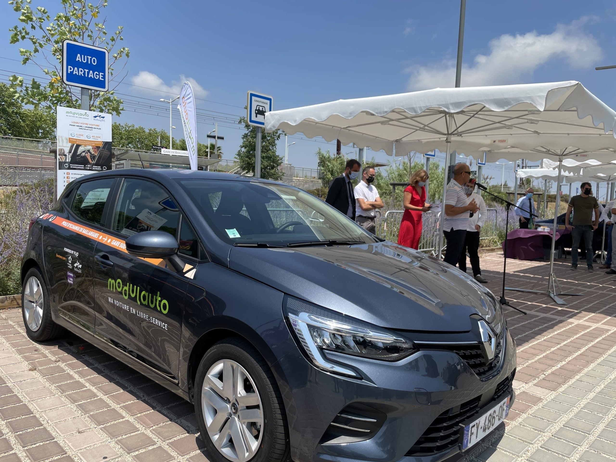 Un nouveau service d'autopartage disponible sur la commune