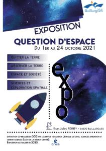 EXPO QUESTION DESPACE 2021 Baillargues